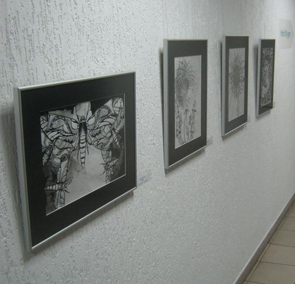Работы Евгении Литвинович