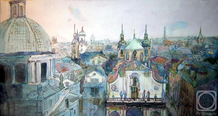 В Минске открылась выставка акварели художника Игоря Сухорукова