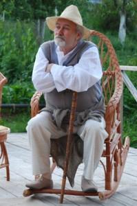 Именинник Валерий Анисенко в образе Петра Сорина Фото: Виктор ЗАЙКОВСКИЙ