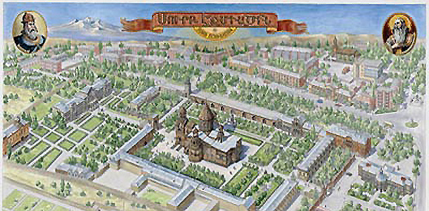 В Минске открылась выставка рисованных панорамных карт Рубена Атояна