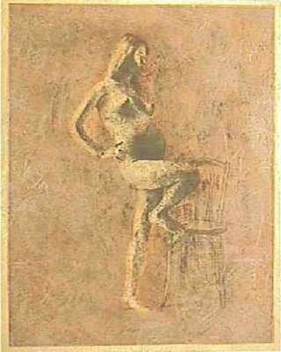 Борис Заборов. Беременная женщина