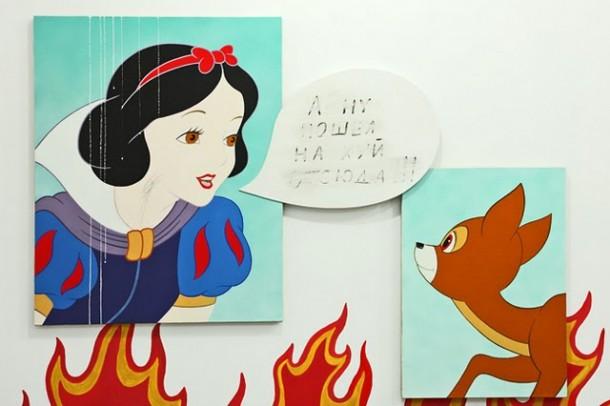 Михаил Гулин. Выставка недетского рисунка