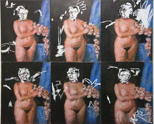 Igor Tishin. Silence of Jean-Paul Sartre. Выставка «Картина маслом»,  галерея «У»,  Минск
