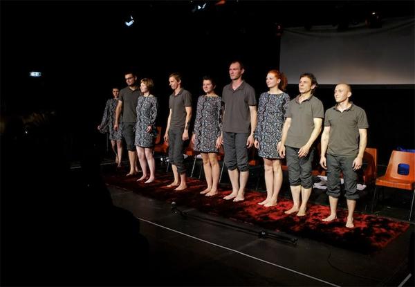 Актеры Белорусского Свободного театра