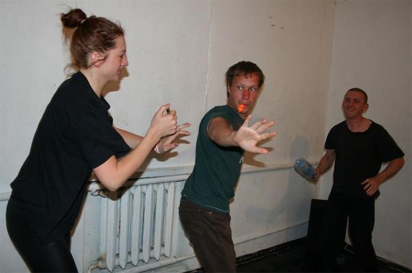 Занятия в театральной лаборатории Fortinbras