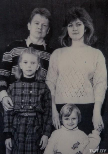Семья Владимира Жбанова.