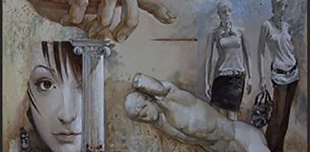 Персональная выставка живописи Павла Кондрусевича «Он и она»