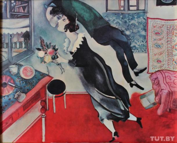 Марк Шагал. Именины. 1915