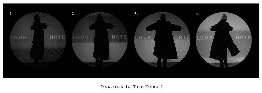 "Андреас Тали ""Танец в темноте І"". Цифровая печать. 2008. Эстония"