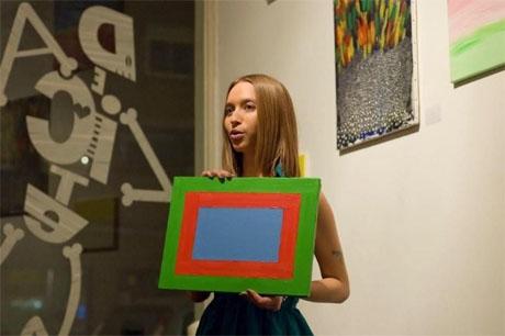 Выставка Валерии Красовской в Амстердаме