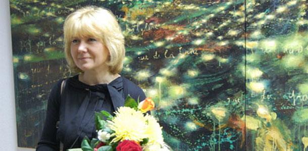 В Минске спустя 10 лет открылась выставка Натальи Залозной