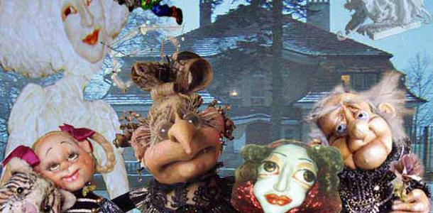 На чердаке Витебской ратуши проходит выставка интерьерных кукол
