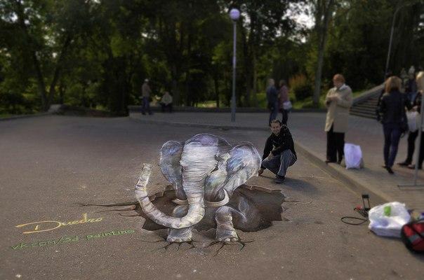 Витебские художники создали в Минске 3D-композицию, посвященную белорусам в проекте Mars One