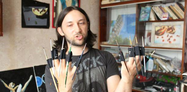 """Белорусский художник – о патентах и вкусах белорусов: """"Люди не могут понять, почему картина стоит больше, чем палка колбасы"""""""